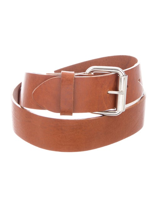 Barney's New York Leather Hip Belt Brown