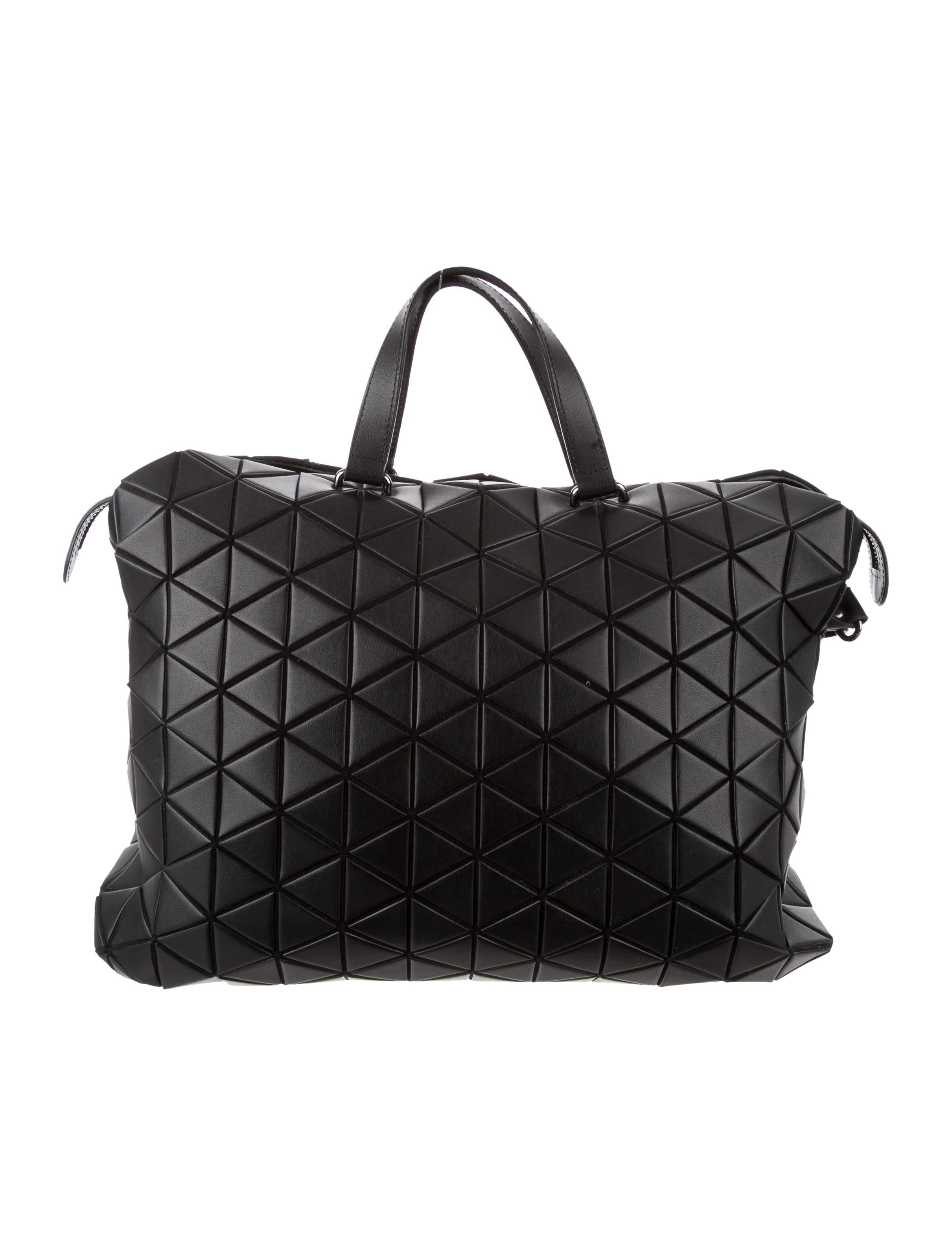 d0c722b97a Bao Bao Issey Miyake Tonneau Matte Boston Bag - Handbags ...
