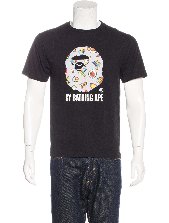 Bape Baby Milo Graphic Print Shirt Clothing