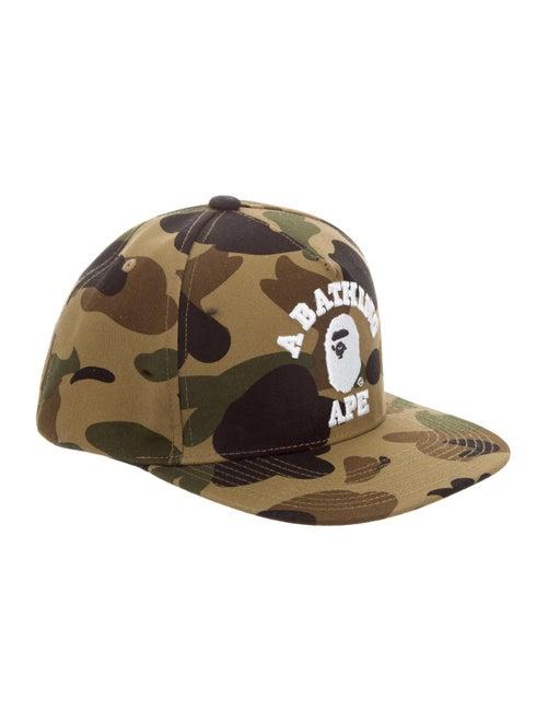 BAPE Camo Baseball Hat - Accessories - WBAPE20149  86e1f7c44b4