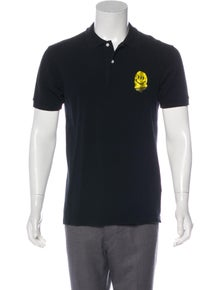 2cc9b809 BAPE. Embroidered Polo Shirt