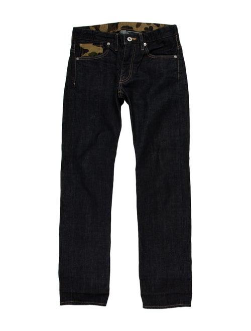 Bape Skinny Jeans blue