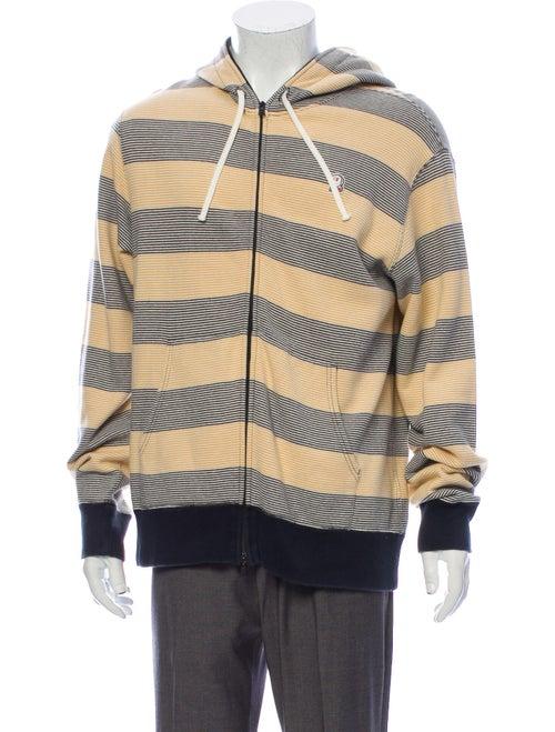 Bape Mountain Sports Striped Striped Hoodie