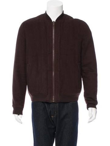 BASCO Wool Bomber Jacket None