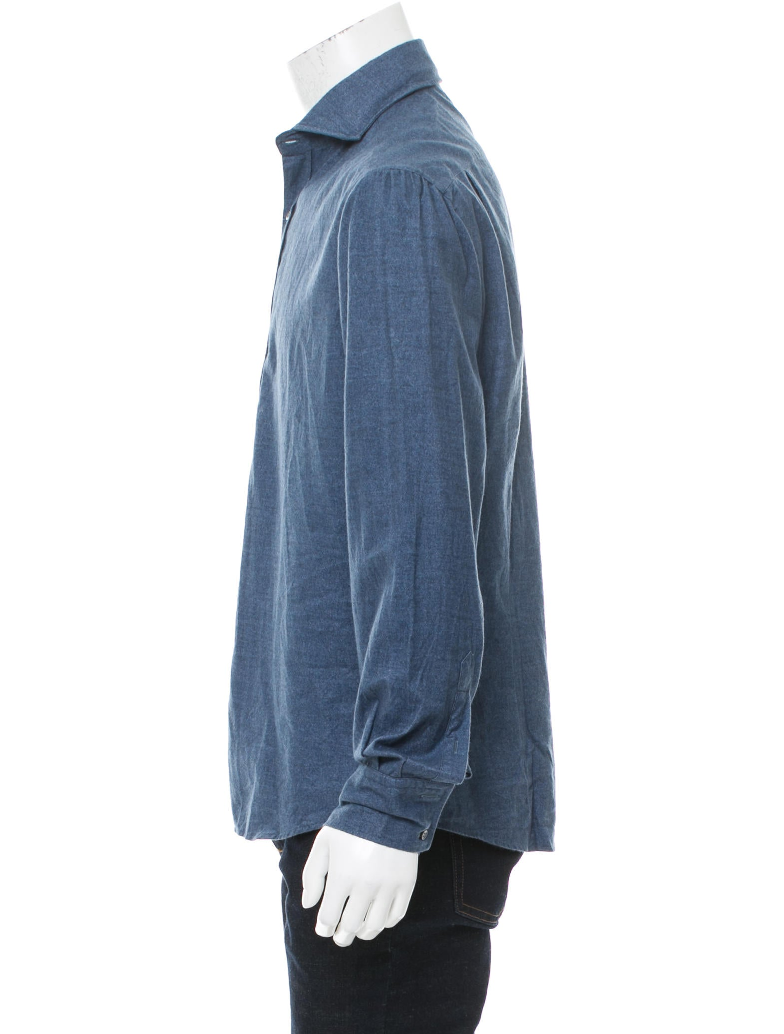 Michael bastian woven button up shirt w tags clothing Woven t shirt tags