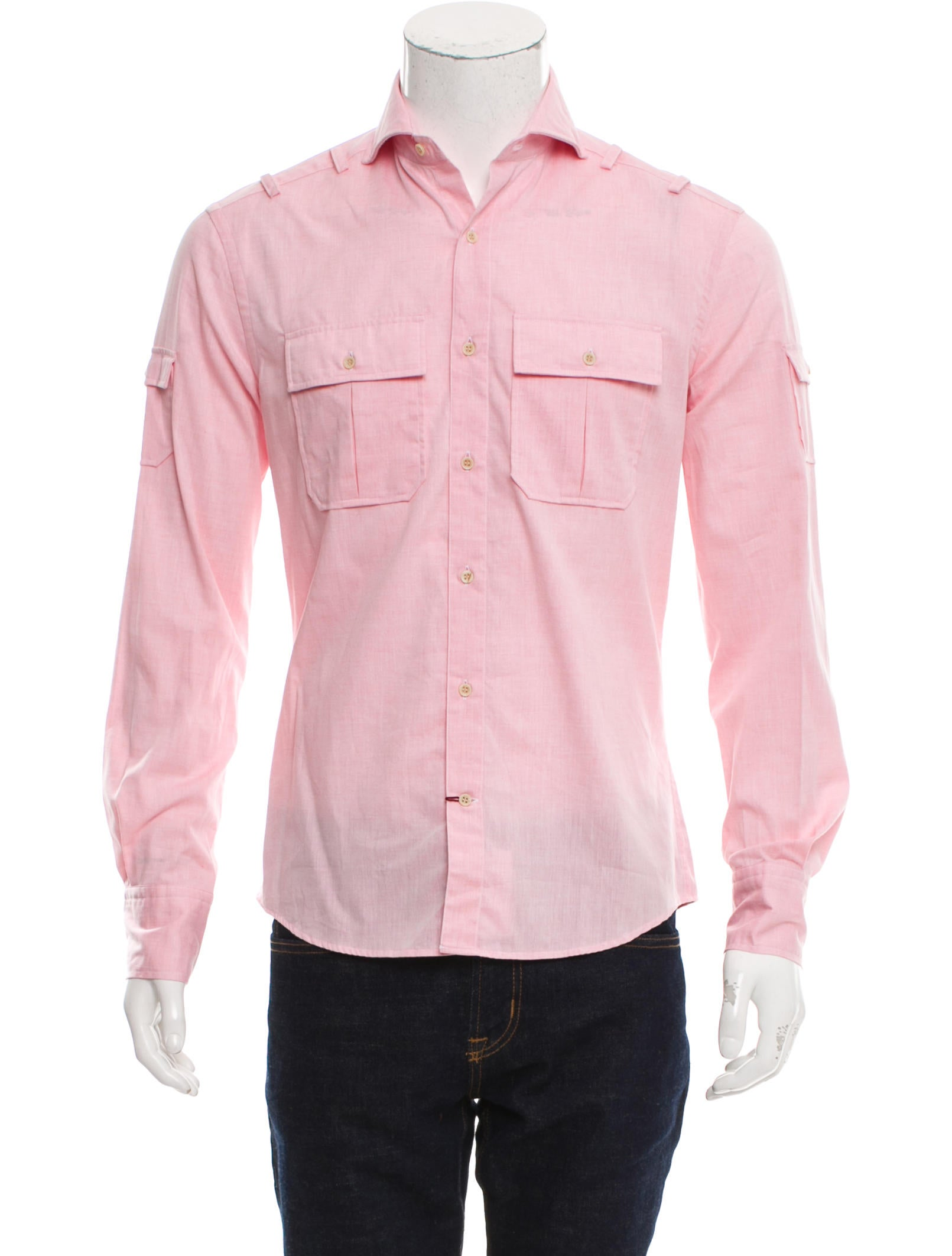 Michael bastian woven utility shirt w tags clothing Woven t shirt tags