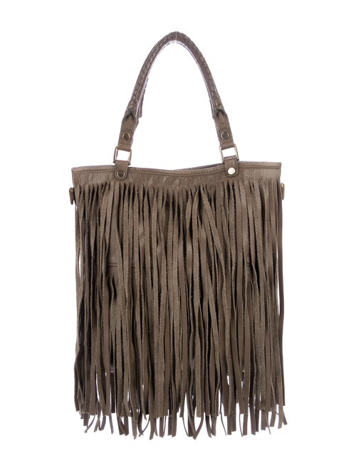 B-Low The Belt Twiggy Fringe Tote Brown
