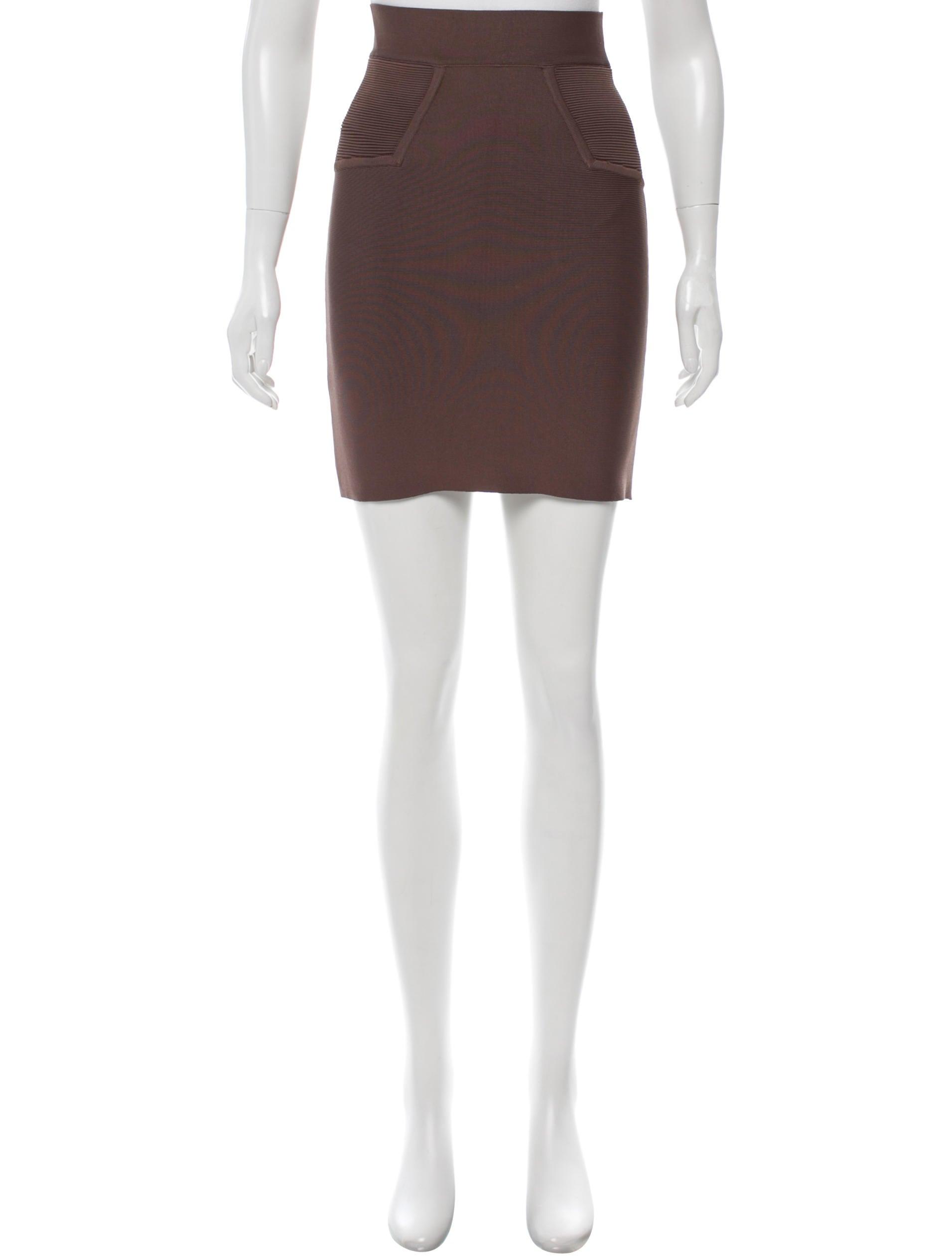 bcbg max azria bodycon knee length skirt clothing