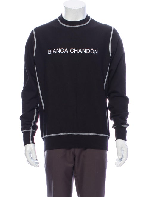 Bianca Chandon Graphic Print Crew Neck Sweatshirt