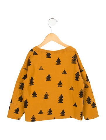 Girls' Lightweight Tree Print Sweatshirt w/ Tags