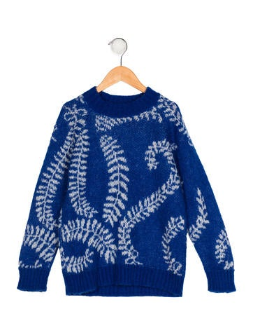 Bobo Choses Girls' Knit Intarsia Sweater None