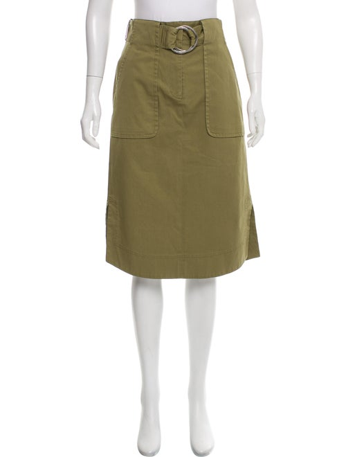 Becken Riding Knee-Length Skirt w/ Tags Olive
