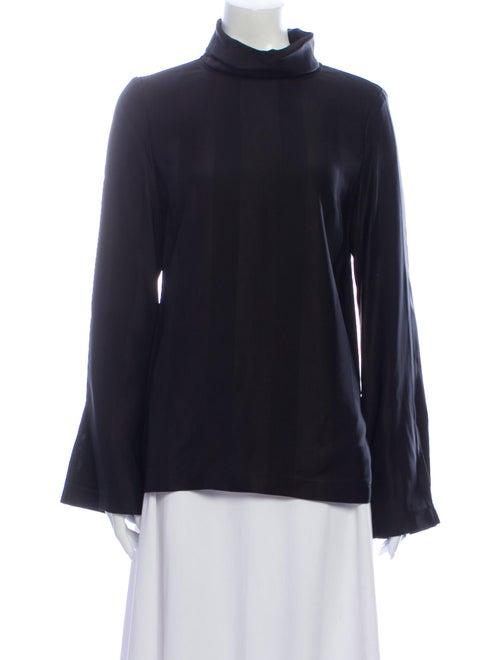 Becken Turtleneck Long Sleeve Top Black