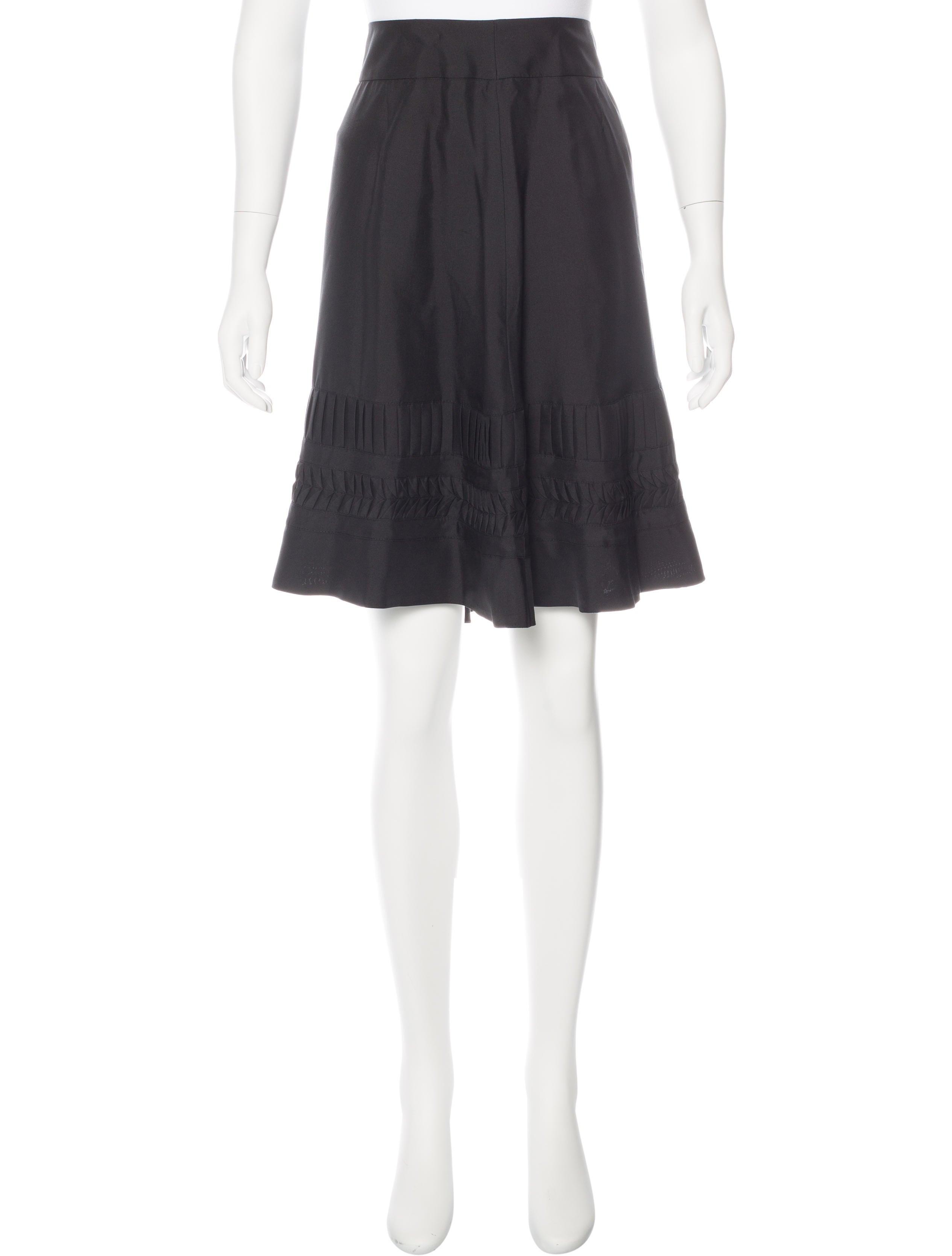 bamford knee length a line skirt clothing wbd20023