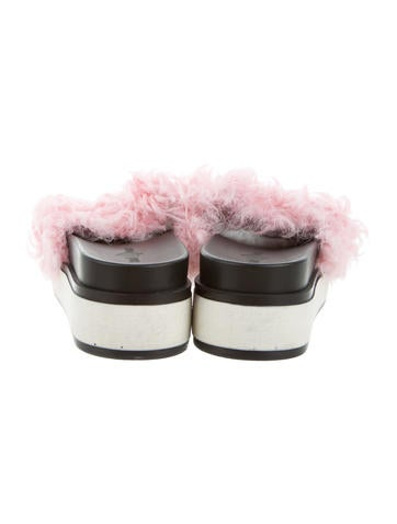 Blood & Honey Shearling Slide Sandals sale new styles nRKiJLd