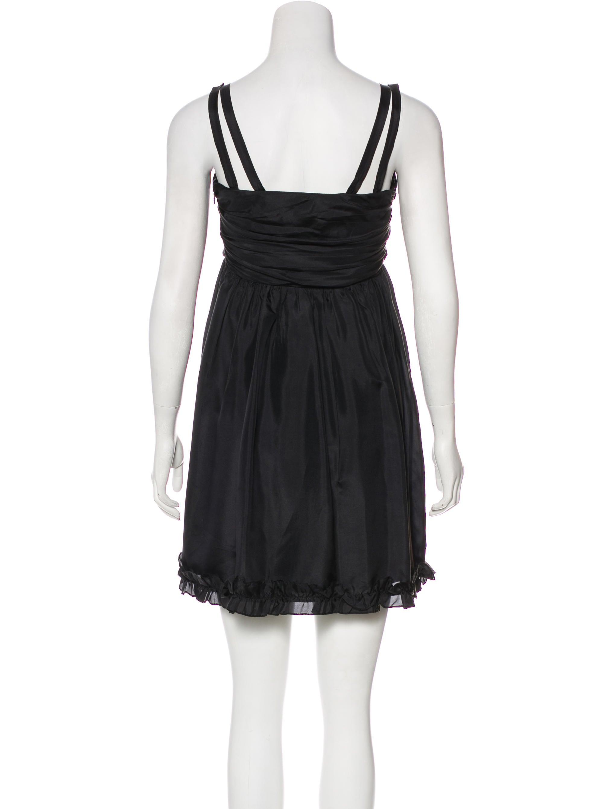 32cd0a06a9 Betsey Johnson Empire Silk Mini Dress - Clothing - WBE20025