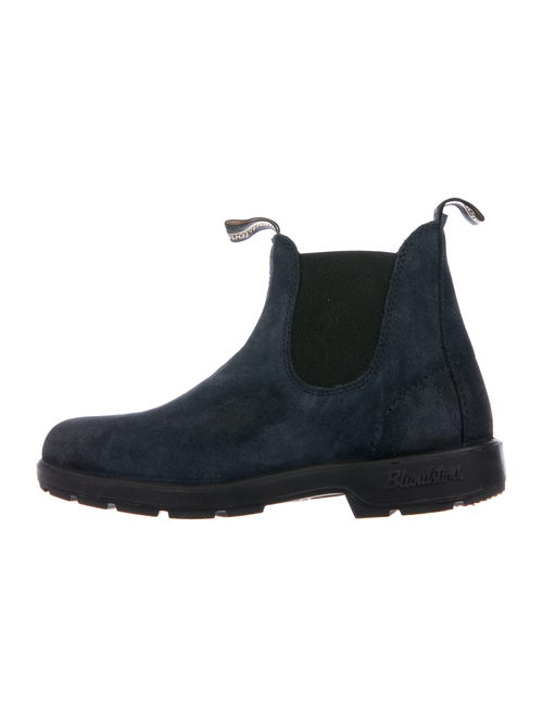 Blundstone Suede Chelsea Boots Blue