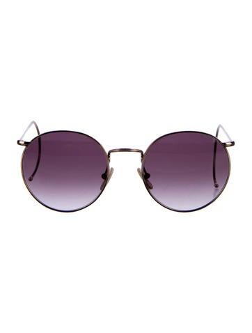 benjamin eyewear gradient circle sunglasses accessories
