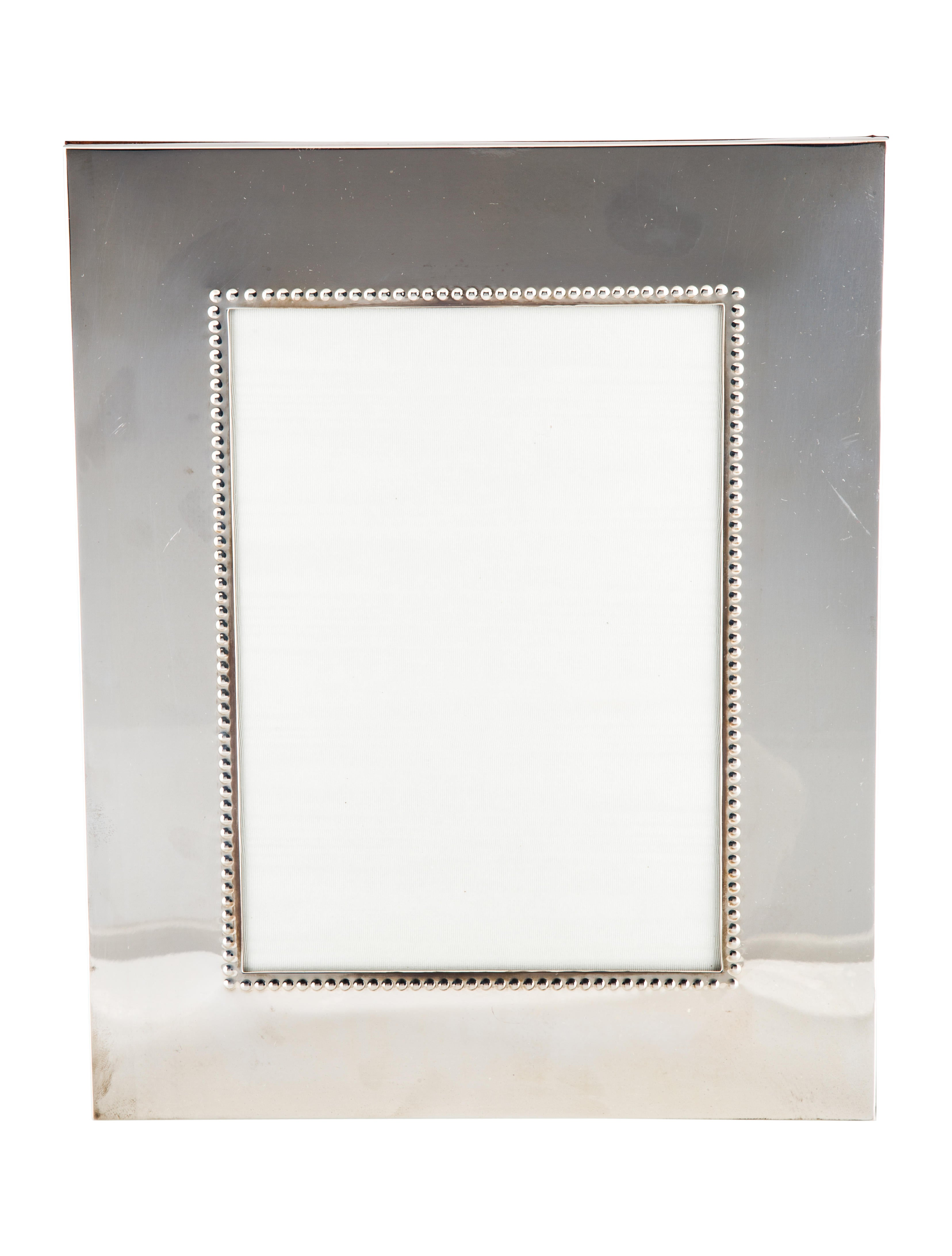 Bergdorf goodman sterling silver frame decor and for Artistic accents genuine silver decoration