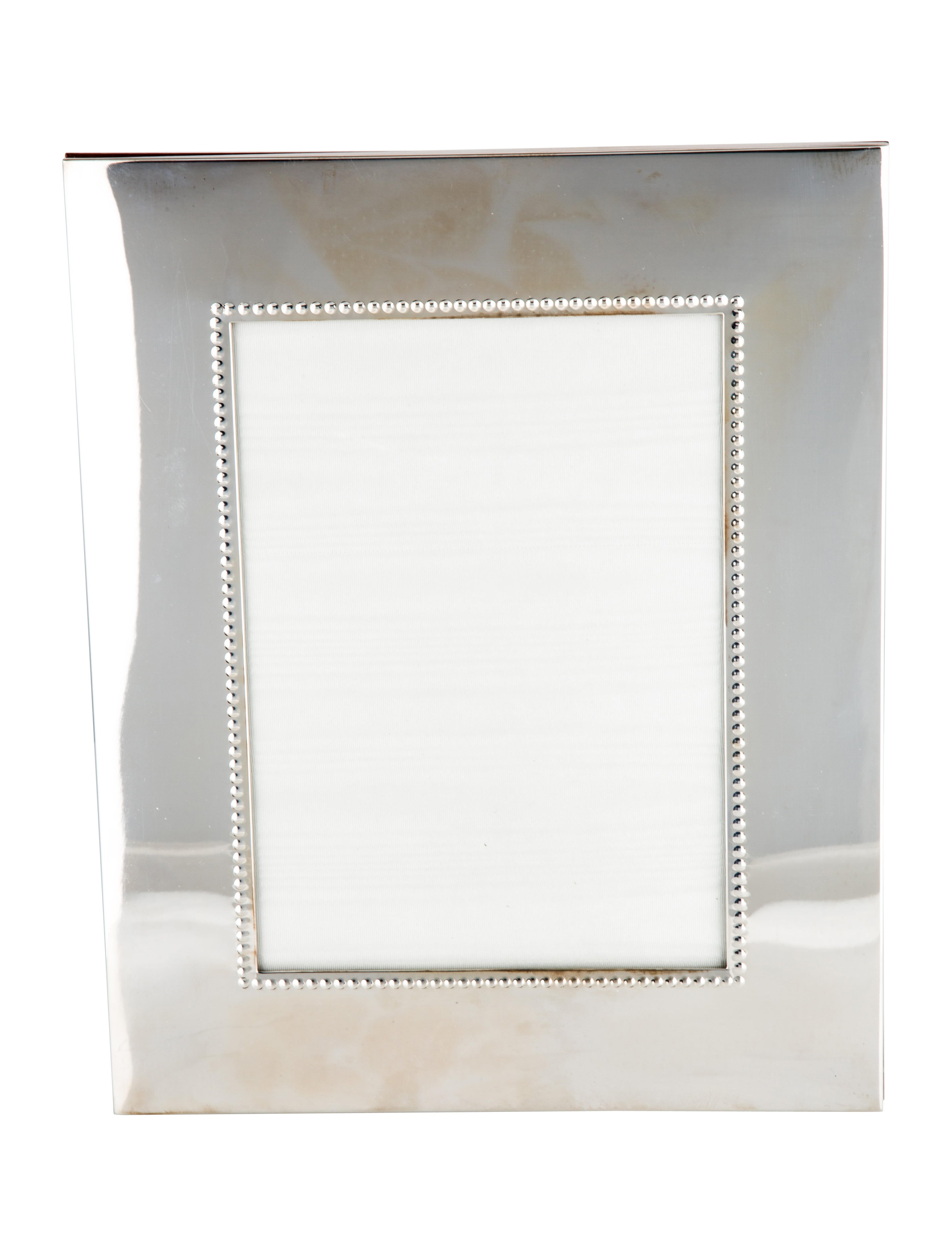Bergdorf Goodman Sterling Silver Frame - Decor And Accessories ...