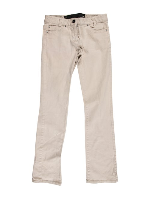 Bui by Barbara Bui Low-Rise Straight Leg Jeans
