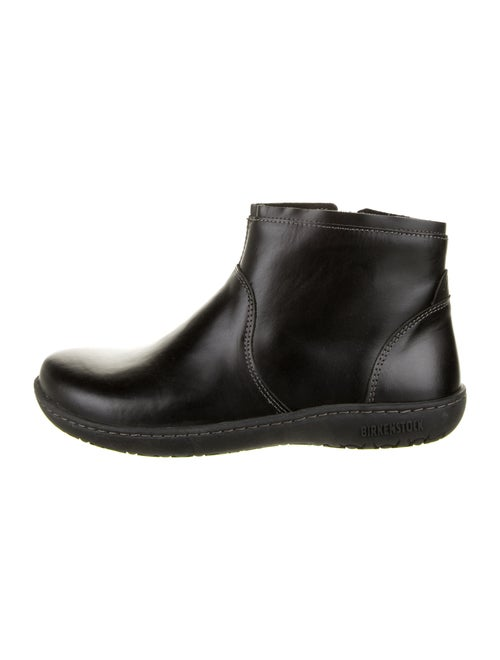 Birkenstock Leather Boots Black
