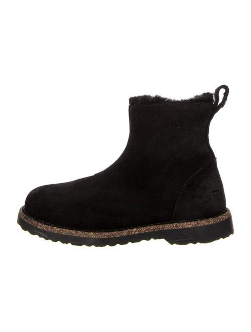 Birkenstock Suede Boots Black