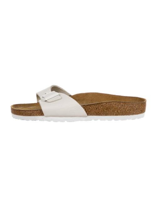 Birkenstock Leather Slides White