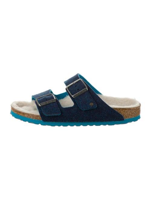 Birkenstock Suede Slides Blue