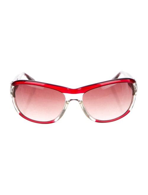 Dirk Bikkembergs Gradient Aviator Sunglasses clear