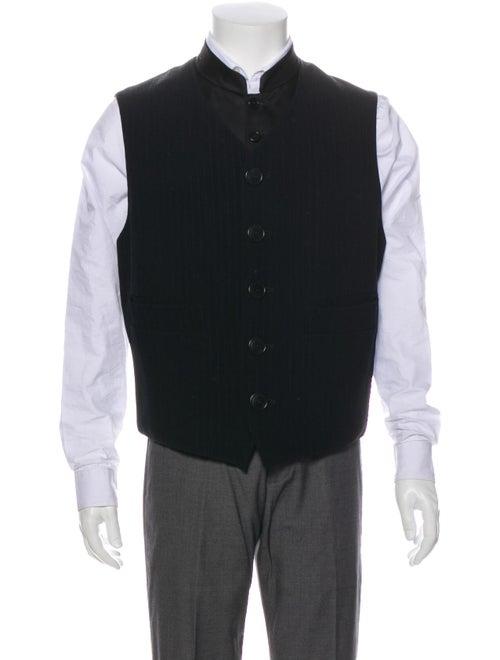 Dirk Bikkembergs Striped Vest Black