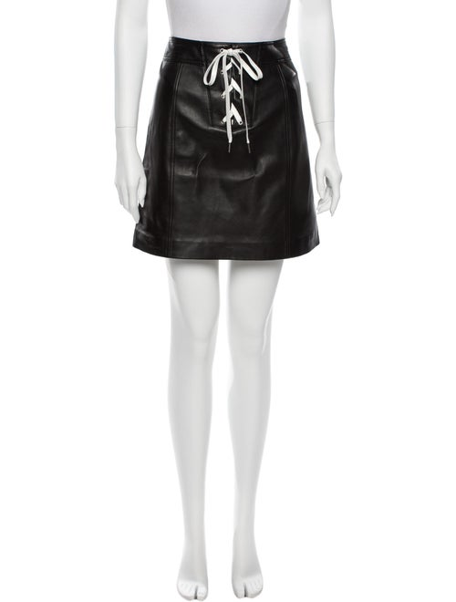 Bldwn Jensen Mini Skirt Black