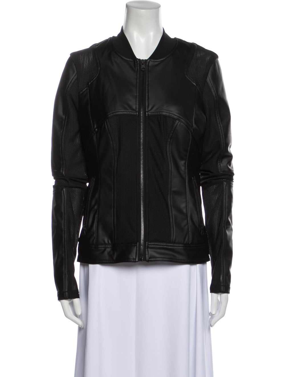 Blanc Noir Biker Jacket Blanc - image 1