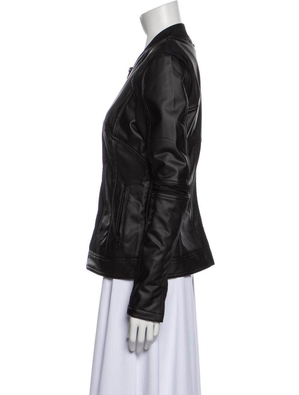 Blanc Noir Biker Jacket Blanc - image 2