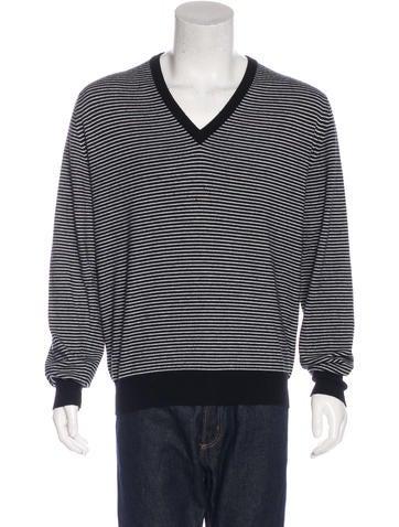 Ballantyne Striped Cashmere Sweater None