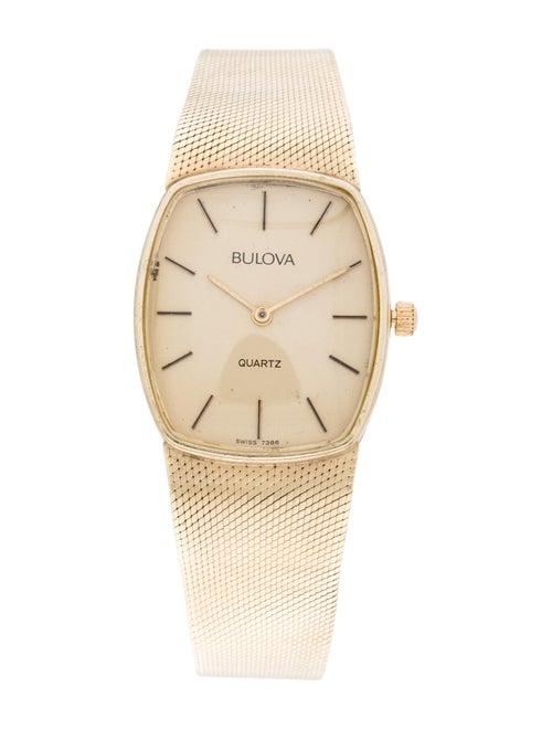 Bulova Classic Watch Yellow