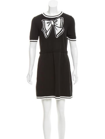Boutique Moschino Intarsia Mini Dress w/ Tags None