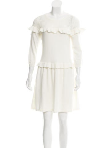 Boutique Moschino Wool Sweater Dress None