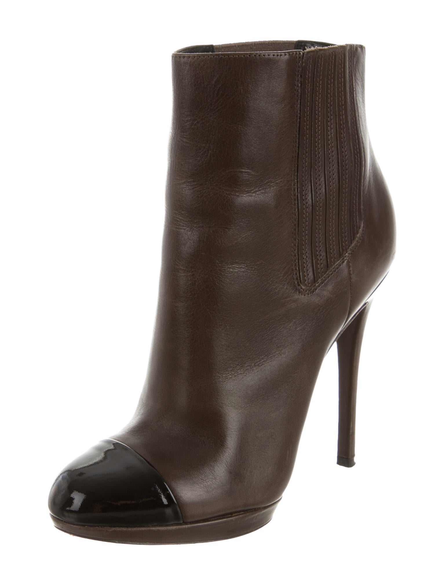 b brian atwood leather ankle boots shoes wbn21494