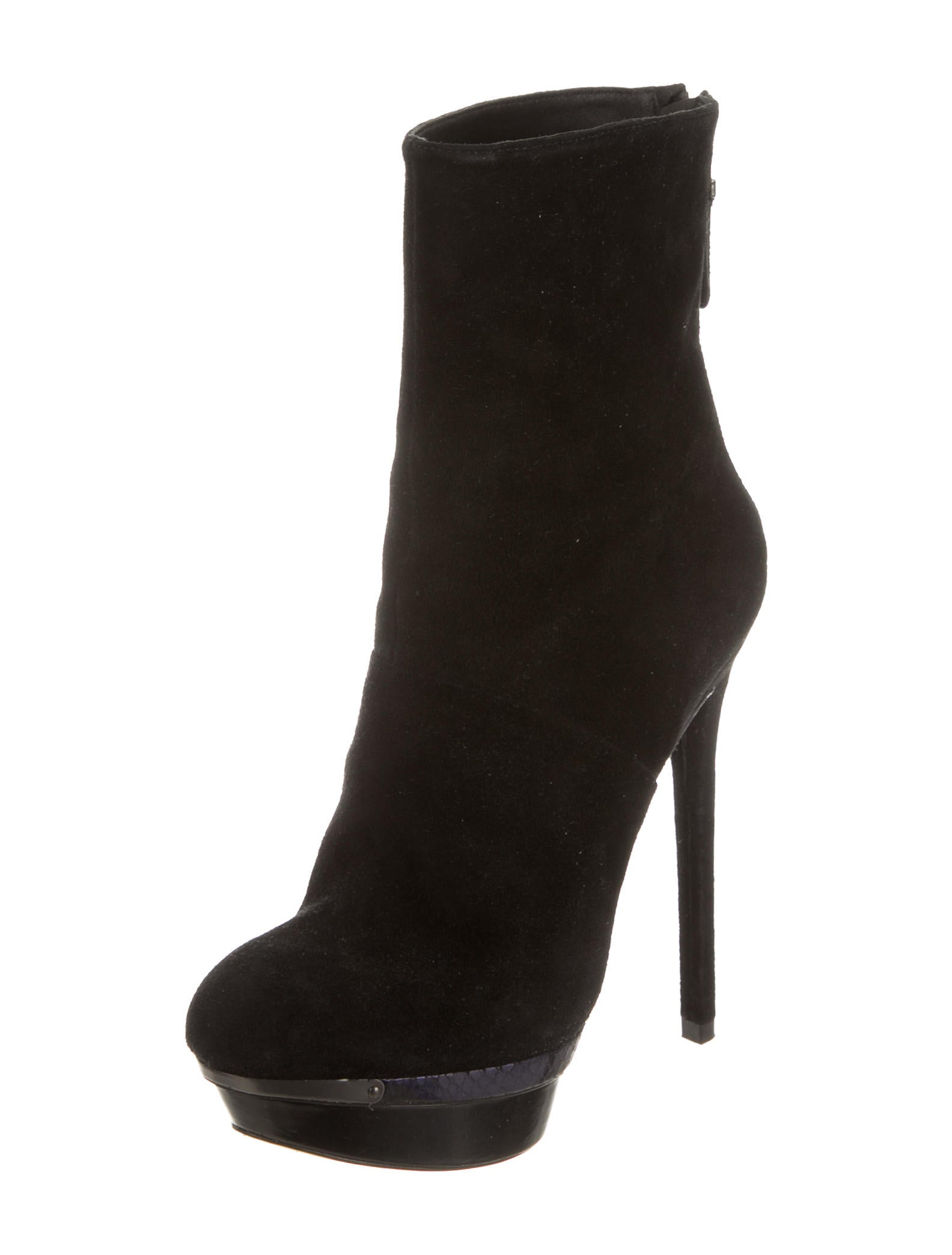 b brian atwood suede platform booties shoes wbn21614