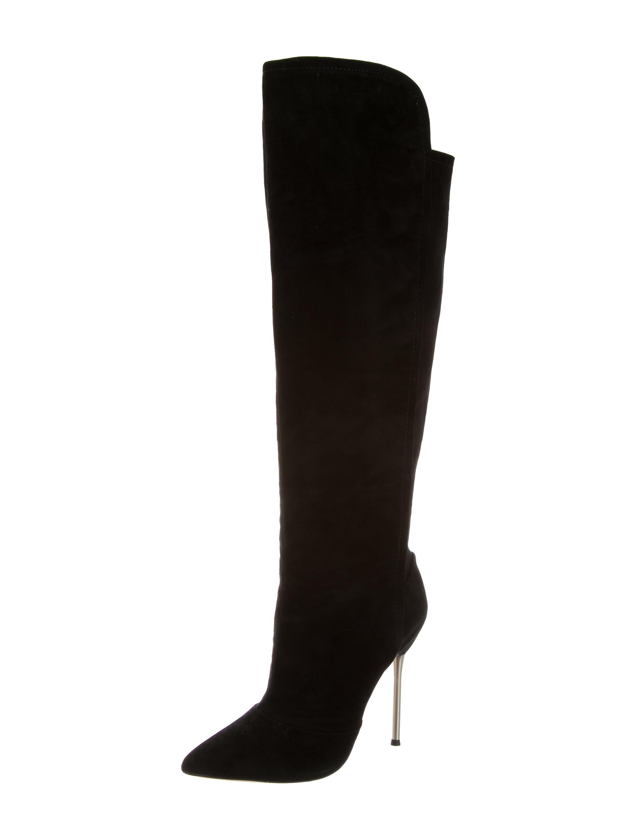 b brian atwood suede pointed toe boots w tags shoes