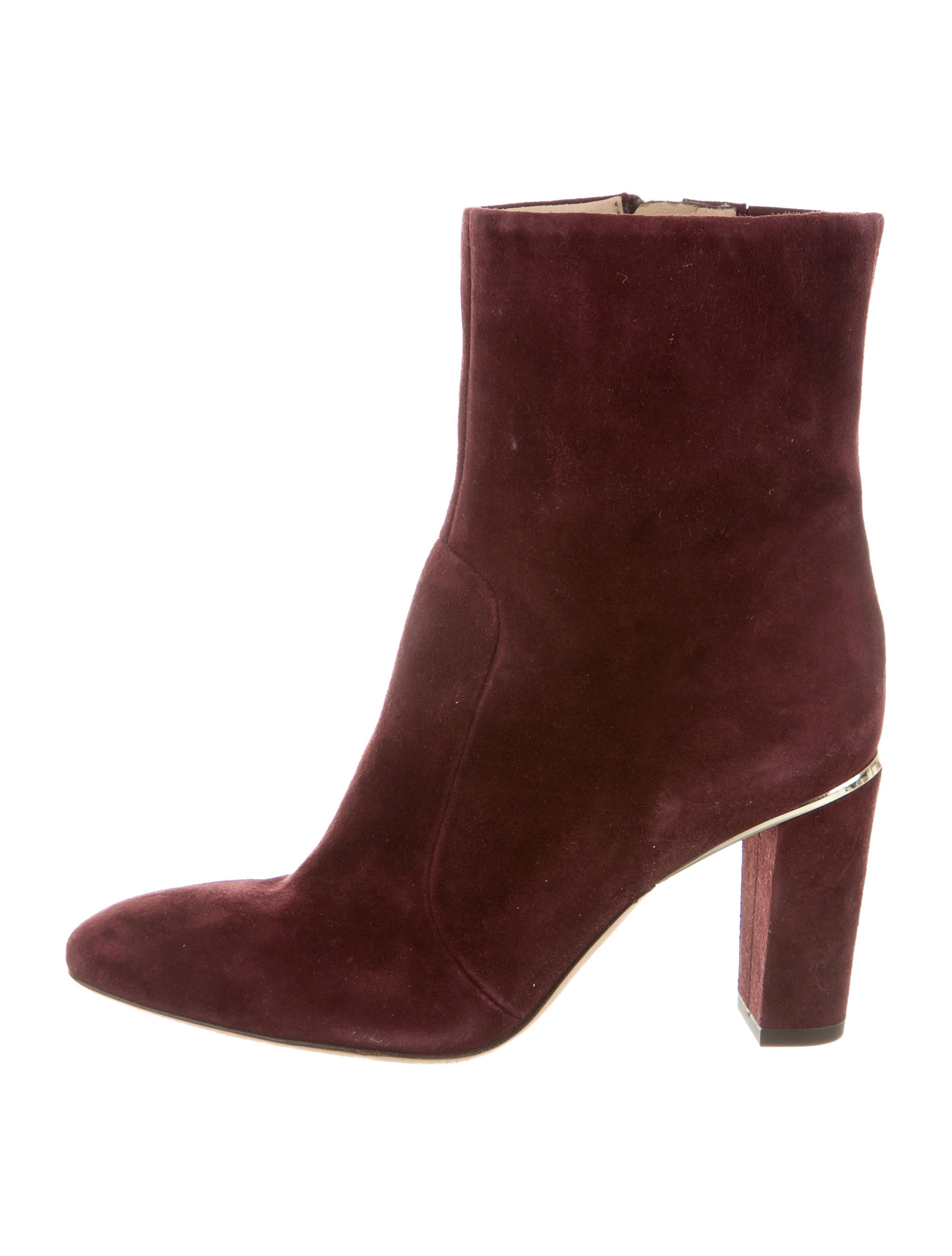 b brian atwood suede ankle boots shoes wbn21777 the