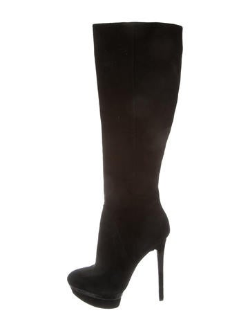buy cheap 100% guaranteed Brian Atwood Suede Platform Boots genuine for sale kfKH58
