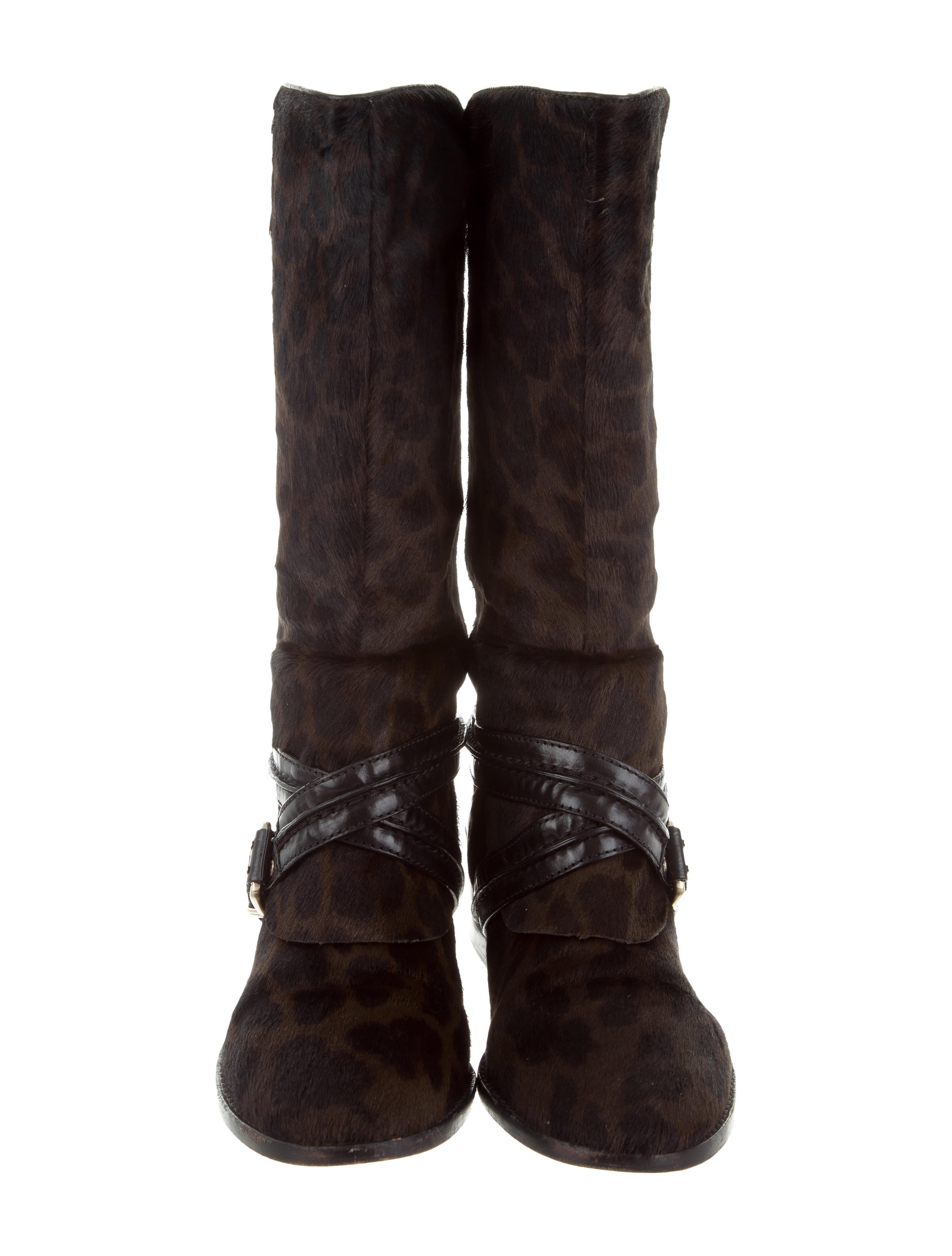 cheap sale geniue stockist cheapest B Brian Atwood Ponyhair Mid-Calf Boots cheap real authentic Xbn3eyKg