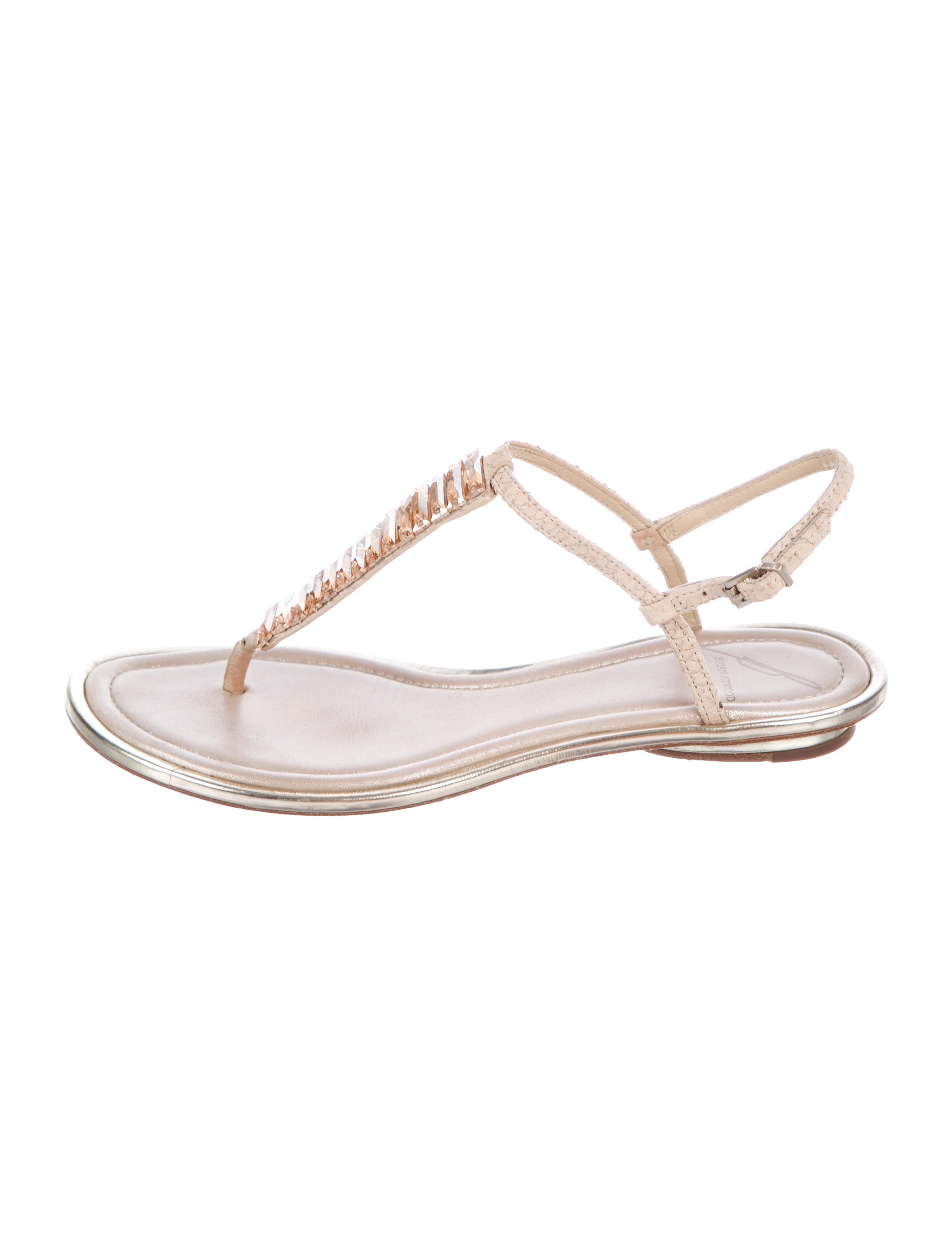 B Brian Atwood Callas Embellished Sandals outlet visit new free shipping pictures countdown package lRXKl2