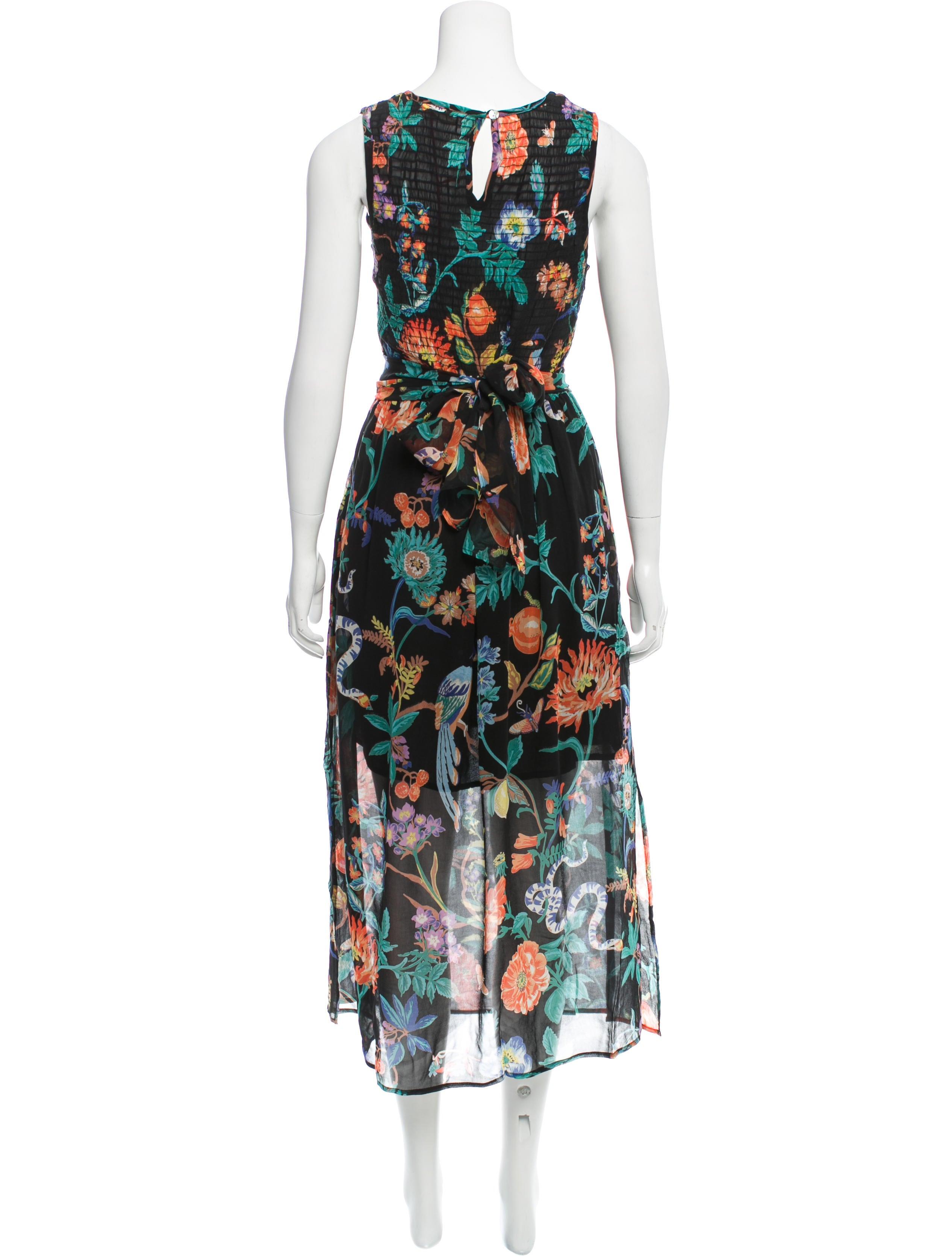 banjanan coachella floral print dress w tags  clothing