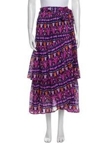 Banjanan Printed Midi Length Skirt