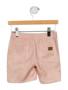BONBON Boys' Pinstripe Woven Shorts