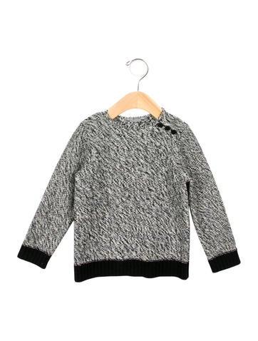 Bonpoint Girls' Long Sleeve Crew Neck Sweater None
