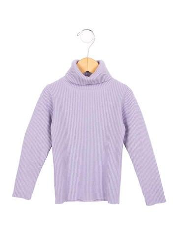 Bonpoint Girls' Wool Turtleneck Sweater None